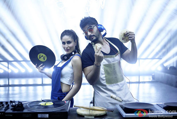 Kareena Kapoor Khan and Arjun Kapoor in a still from Ki & Ka