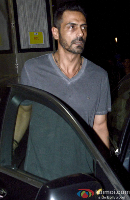 Arjun Rampal on the sets of 'Rock On!! 2'