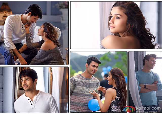 Sidharth Malhotra, Alia Bhatt and Fawad Khan in a 'Bolna' song still from movie 'Kapoor & Sons'
