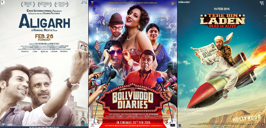 Box Office Predictions - Aligarh, Bollywood Diaries, Tere Bin Laden Dead Or Alive and 4 other releases