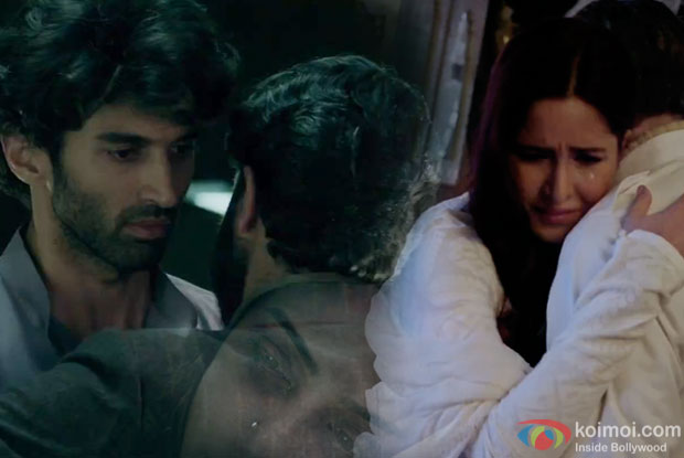 Aditya Roy Kapur and Katrina Kaif in a 'Haminastu' song still from 'Fitoor'