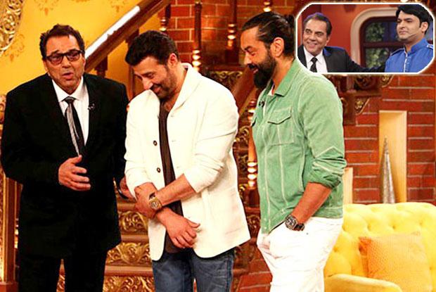 Channel Edits Dharmendra's Praises For Kapil Sharma On Comedy Nights Live?