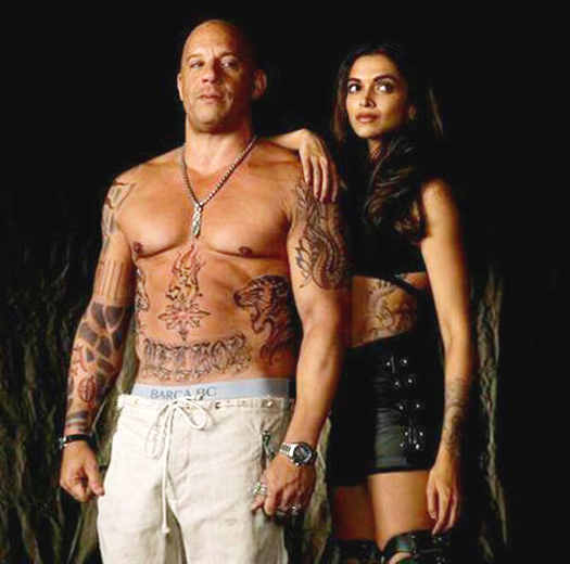Deepika Padukone & Vin Diesel In The 1st Look Of xXx