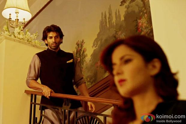 Aditya Roy Kapur and Katrina Kaif in a still from 'Fitoor'