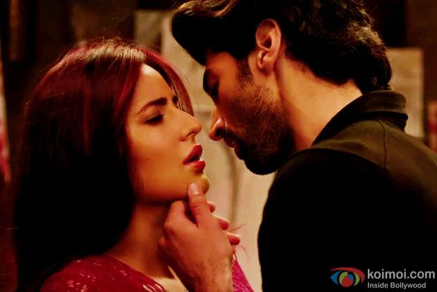Katrina Kaif and Aditya Roy Kapur in a still from 'Fitoor'