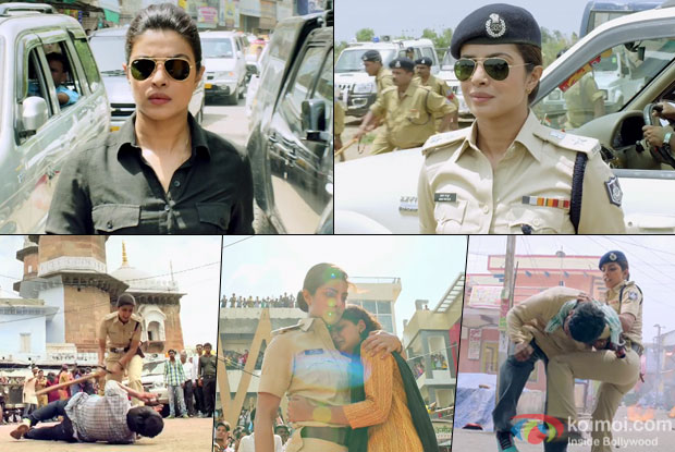 Priyanka Chopra in a still from 'Jai Gangaajal'