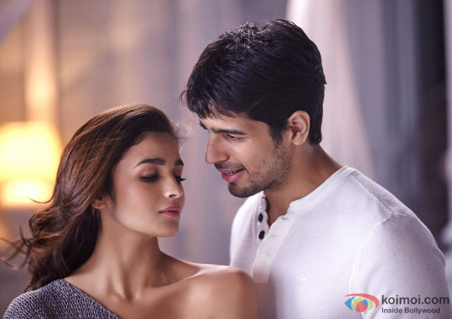 Alia Bhatt and Sidharth Malhotra in 'Kapoor And Sons' Movie Stills