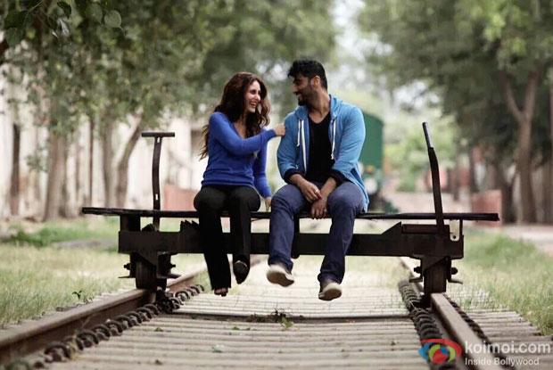 Kareena Kapoor Khan and Arjun Kapoor in a still from 'Ki And Ka'