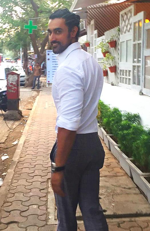 Kunal Kapoor sports a funky braided man-bun
