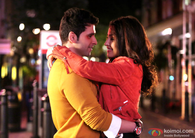 Girish Kumar and Navneet Kaur Dhillon in a still from movie 'LoveShhuda'
