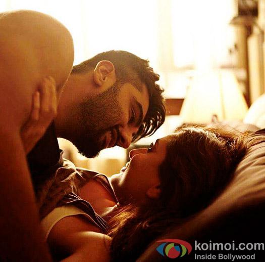 Arjun Kapoor and Kareena Kapoor Khan in a still from Ki & Ka
