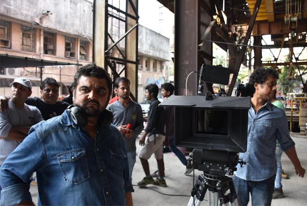 Deven Bhojani On location of film Commando 2