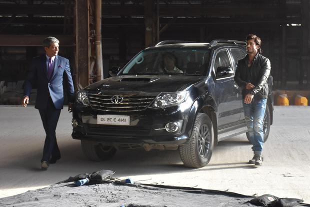 Vidyut Jamwal On location of film Commando 2