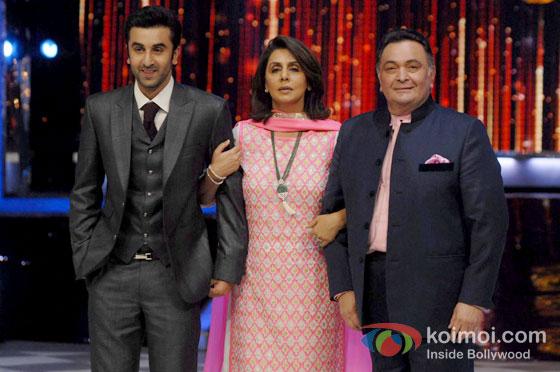 Ranbir Kapoor To Movie In With Parents Neetu Singh and Rishi Kapoor