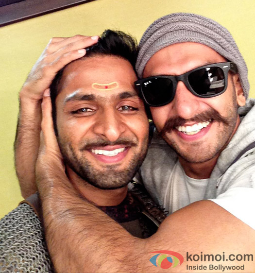 Ranveer Singh to come out to support Vaibbhav Tatwawadi, his onscreen brother in Bajirao Mastani