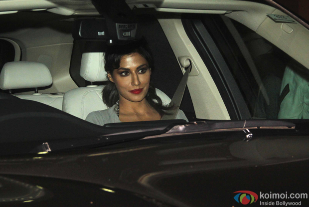 Chitrangada Singh spotted at mumbai airport