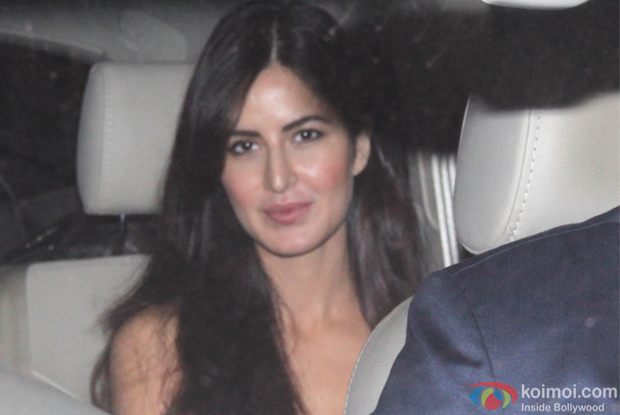 Katrina Kaif during The Screening of film Fitoor