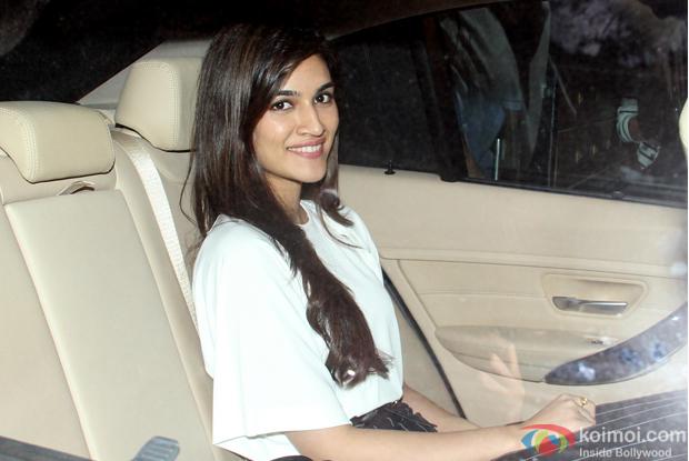 Kriti Sanon during The Screening of film Fitoor