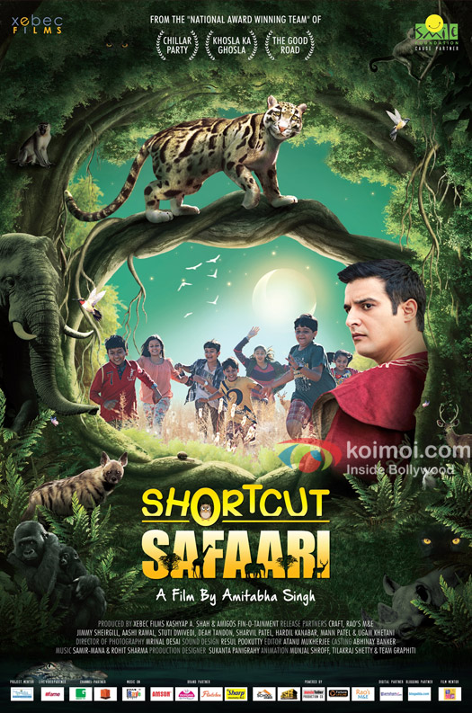 Jimmy Sheirgill in a still from SHORTCUT SAFAARI movie poster