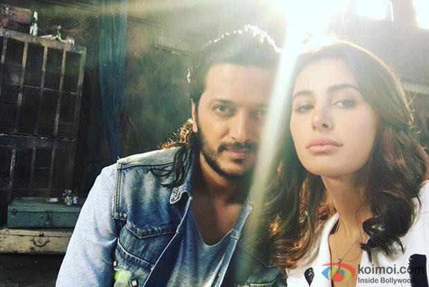 Snapped : Banjo Pair Riteish Deshmukh and Nargis Fakhri