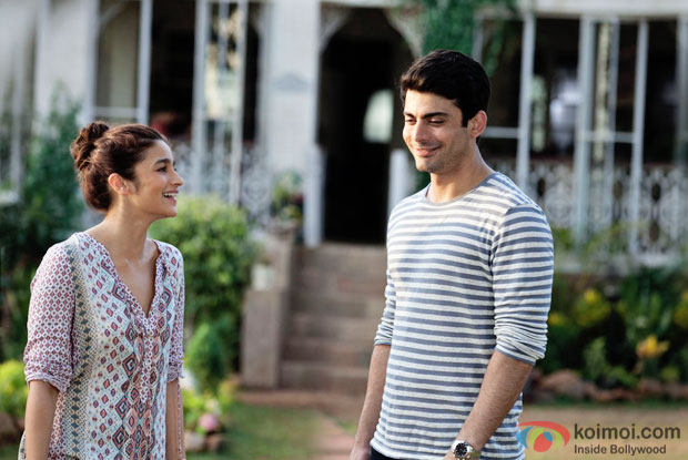 Ali Bhatt and Fawd Khan in a Bolna from Kapoor & sons