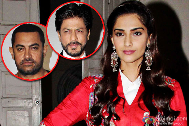 Shah Rukh Khan, Aamir Khan will be afraid to speak on issues due to negative reactions: Sonam Kapoor