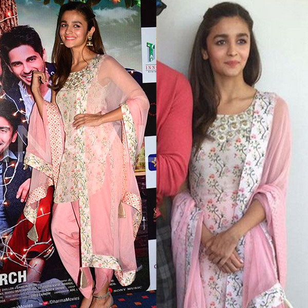 7 outfits that would make you Alia's die hard fan