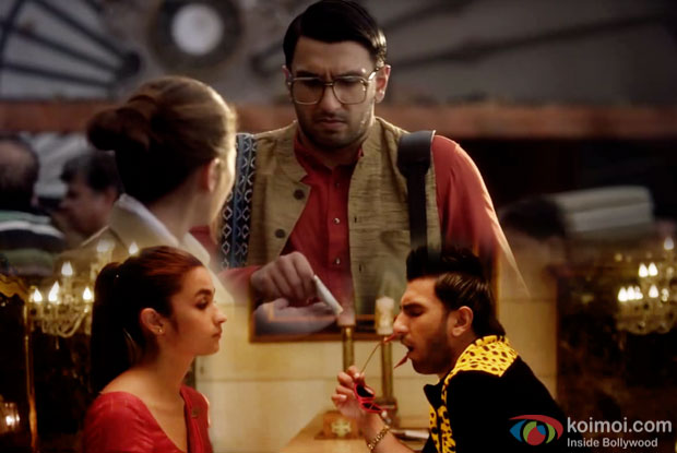 Alia Bhatt and Ranveer Singh in a still from Make My Trip commercial Ad