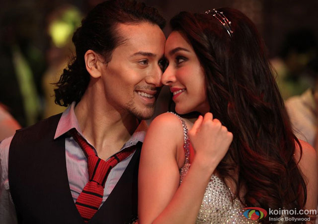 Tiger Shroff and Shraddha Kapoor in a still from movie 'Baaghi'