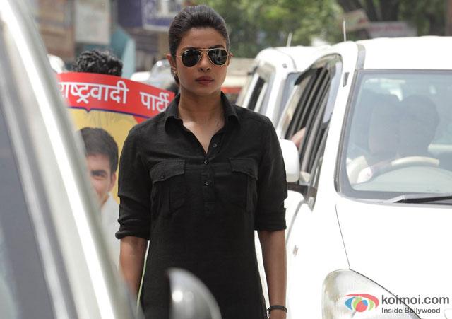 Priyanka Chopra in a still from movie 'Jai Gangaajal'