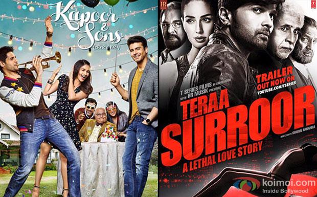 Kapoor & Sons and Teraa Surroor Movie Poster