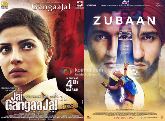 Box Office Predictions - Jai Gangaajal, Zubaan