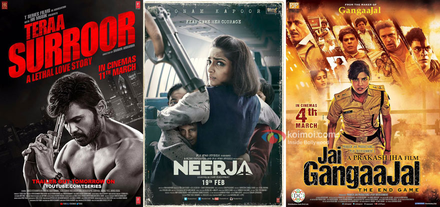 Box Office - Teraa Surroor sails through, Jai Gangaajal and Neerja updates