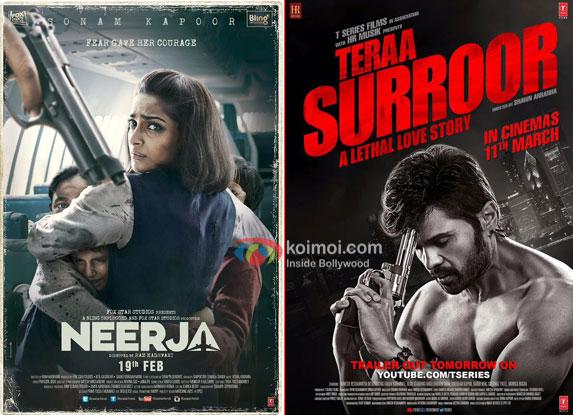 Box Office - Teraa Surroor to sail through, Neerja goes past several biggies