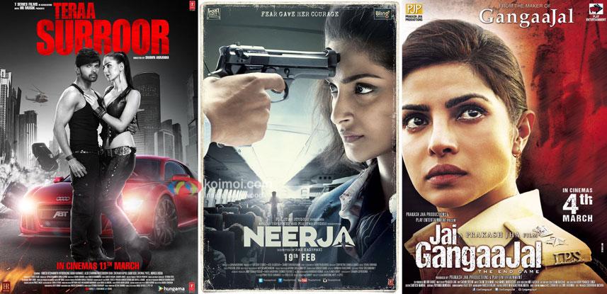 Box Office updates - Teraa Surroor, Neerja, Jai Gangaajal