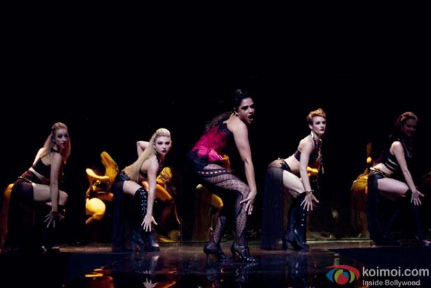 Richa chadda in a still from Cabaret