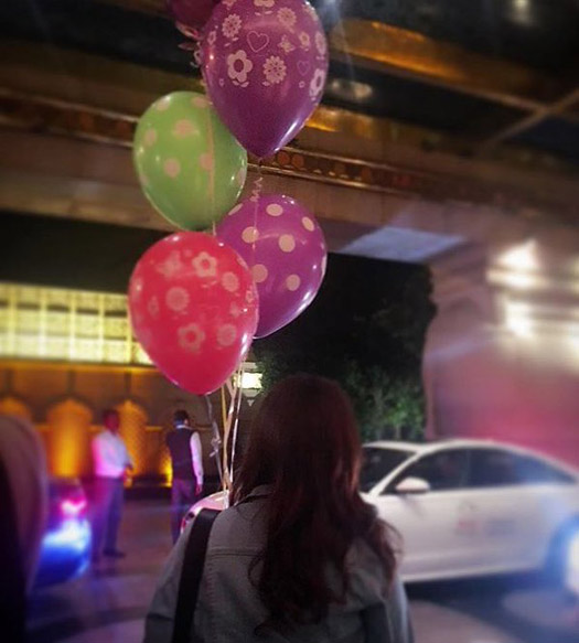 Alia Bhatt snapped celebrating her birthday
