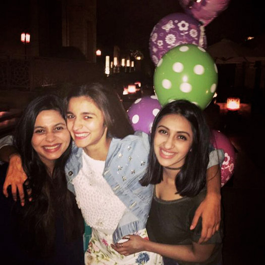 Alia Bhatt's birthday bash