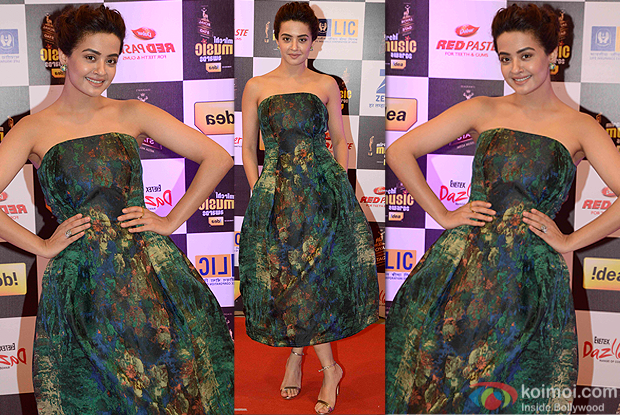Surveen Chawla during the 8th Mirchi Music Awards