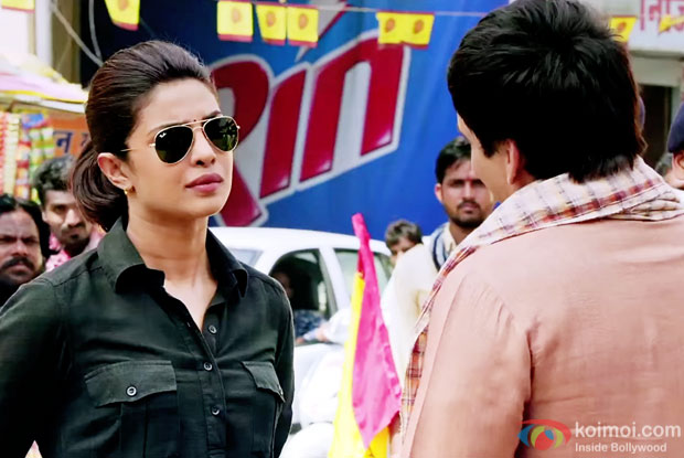 Priyanka Chopra in a still from Jai Gangaajal