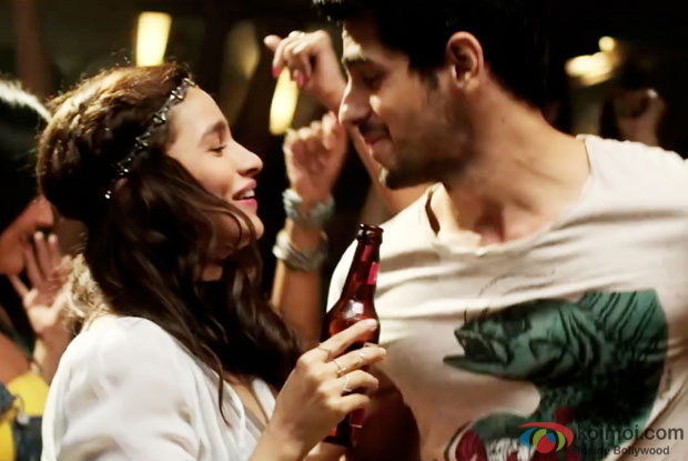 Alia Bhatt and Sidharth Malhotra in a still from Kapoor And Sons
