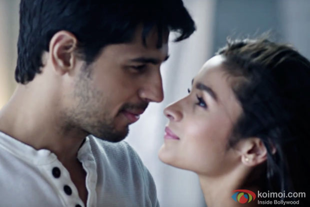 Sidharth Malhotra and Alia Bhatt in a still from Kapoor And Sons