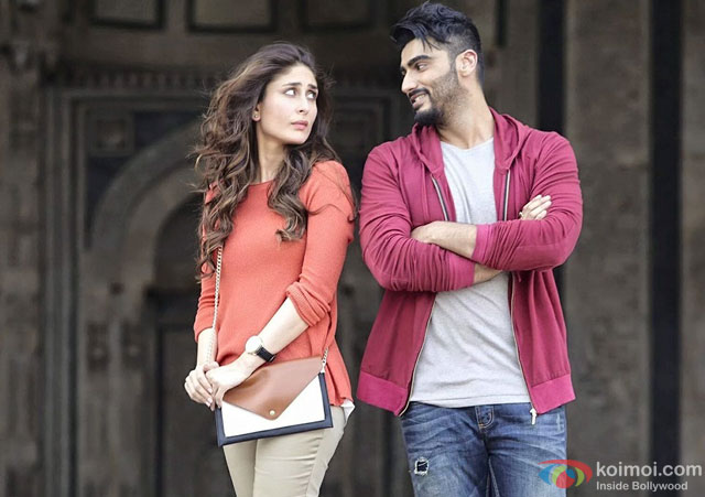 Kareena Kapoor and Arjun Kapoor in a still from movie 'Ki And Ka'