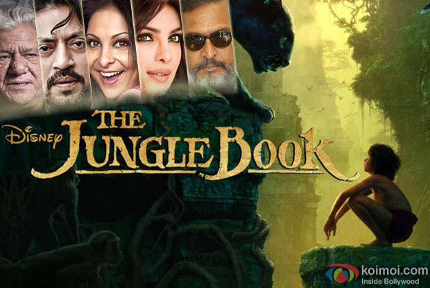 Nana Patekar, Priyanka Chopra, Irrfan Khan, Shefali Shah and Om Puri will lend their voice for the Hindi version of The Jungle Book