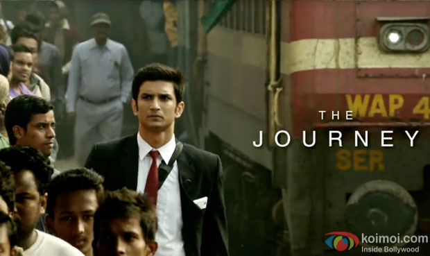 Sushant Singh Rajput in a still from M.S.Dhoni – The Untold Story