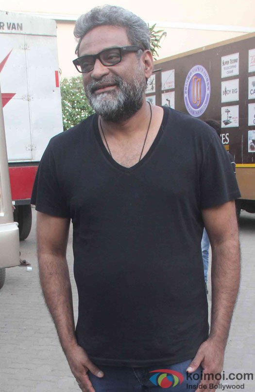 R Balki during the promotion of film Ki and Ka