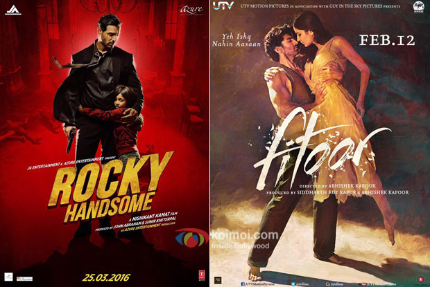 Rocky Handsome Evicts Fitoor ; Becomes 10th Highest Grosser Of The Year