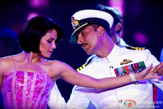 Akshay Kumar Performing On Rustom's Title Song 'Rustom Wahi'