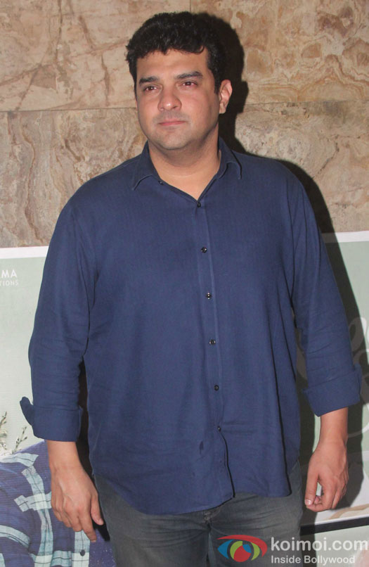 Siddharth Roy Kapur during the screening of film Kapoor and Sons