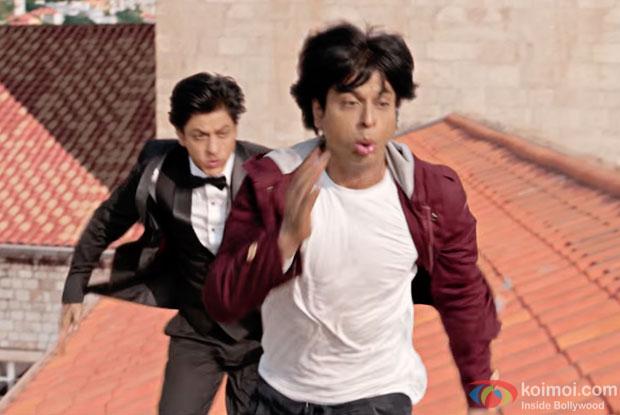 Shah Rukh Khan in a still frm Fan